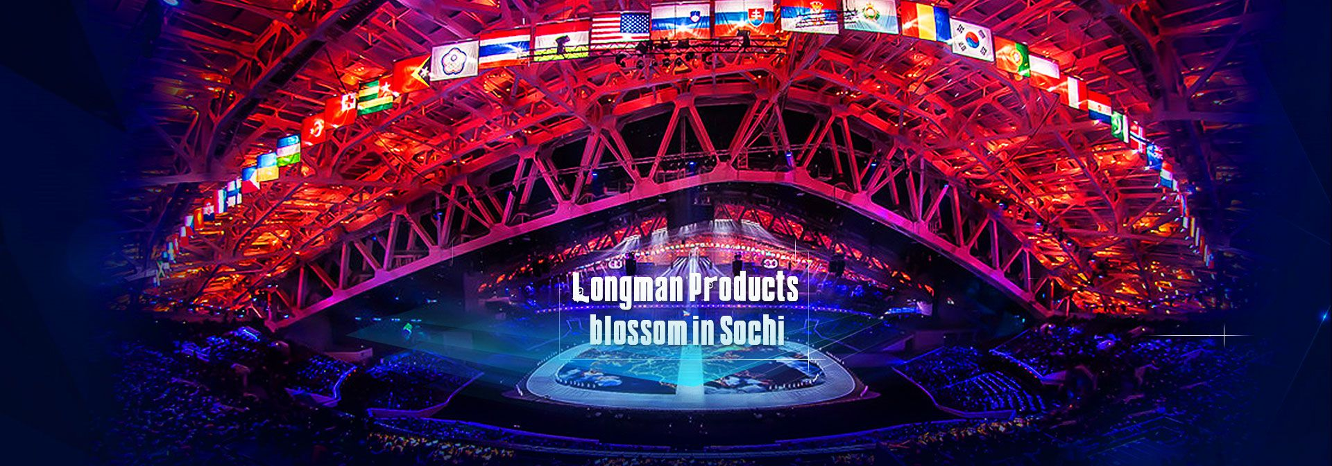Longman lighting products blossom in Sochi