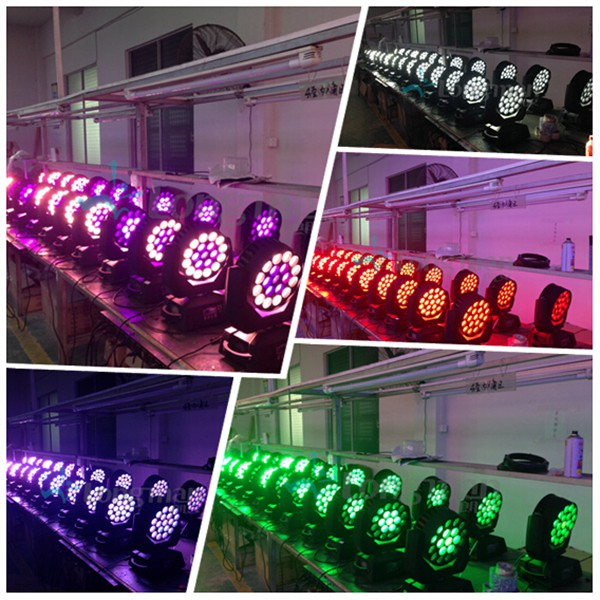 Pointy 600 LED zoom moving head products