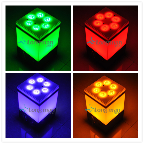 Free color wireless and battery led light product picture