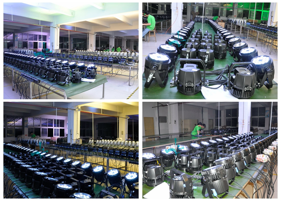 Parco R350, led stage light, stage light, rgbw stage light, outdoor led par light, 18pcs 10w rgbw 4in1 Led Stage Light