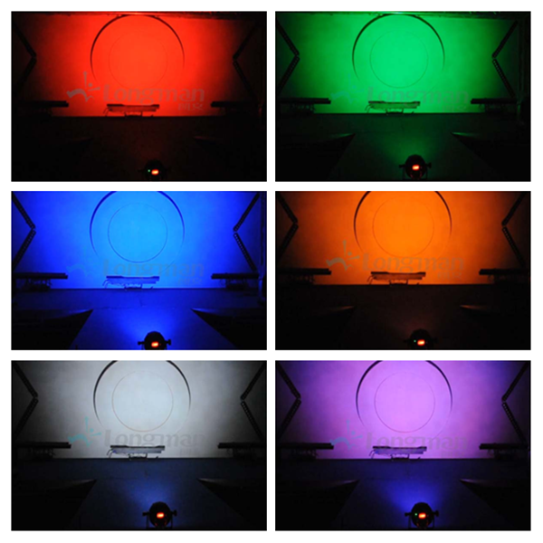 Bowerbird X3-outdoor LED par can stage effect