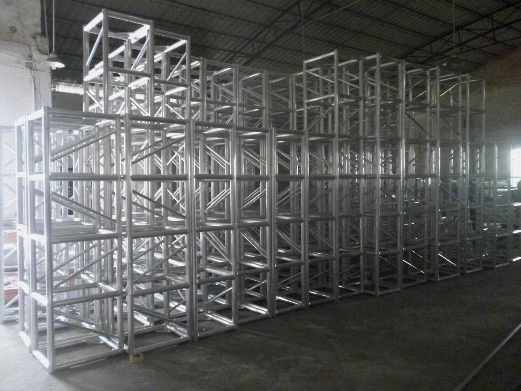 300300 screw aluminum square truss