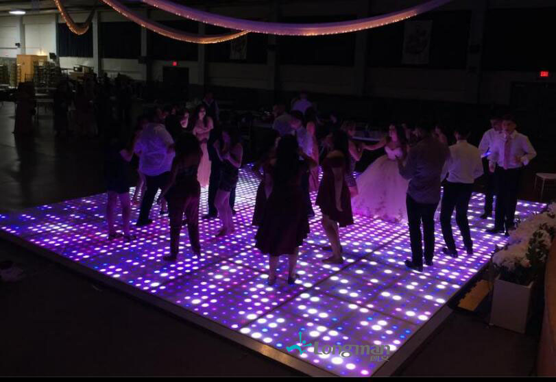 LED dance floor for party in USA