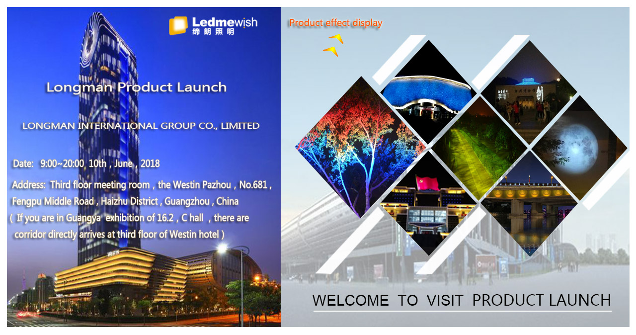 Product launch at Westin Pazhou Hotel at 10th, June 2018