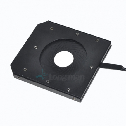 Aperture for led studio light
